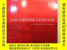 二手書博民逛書店THE罕見CHINESE LEXICON : A COMPREH