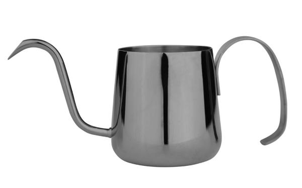 金時代書香咖啡 AKIRA 不銹鋼細口手沖壺 330ml 鈦黑金色 C12-BK (是否有貨請詢問LINE@客服人員)