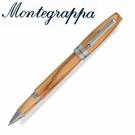 義大利Montegrappa萬特佳  財富原木筆系列 - 鋼珠筆(橄欖木) ISFOWRIO /支