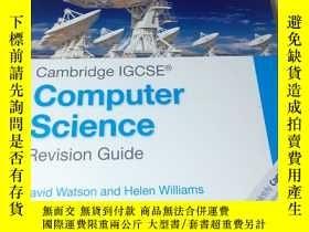 二手書博民逛書店Cambridge罕見IGCSE Computer Science Revision Guide《劍橋 lGCS