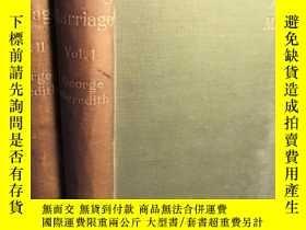 二手書博民逛書店1895年罕見THE AMAZING MARRIAGE BY G