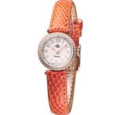 玫瑰錶 Rosemont 茶香玫瑰系列超薄時尚錶 TRS010-05RG-LE-OR