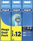 【日本代購】Brown Oral B Replacement Brush Basic / PRECISION CLEAN 12 EB20RB-12EL