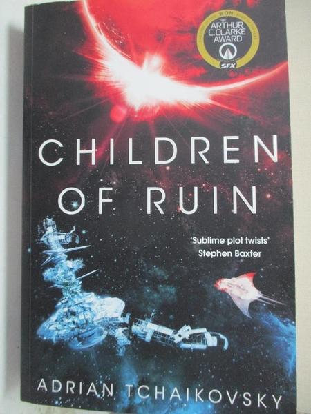 【書寶二手書T1/原文小說_EWC】Children of Ruin_Adrian Tchaikovsky