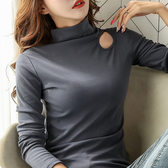長袖針織衫 秋冬新款寬鬆長袖套頭毛針織衫女外穿慵懶風打底衫修身上衣
