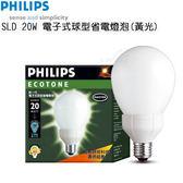 【促銷品。限1組】球型20W 飛利浦-電子式省電燈泡(8入)●免運費