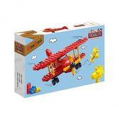 《 BanBao 邦寶積木 》Snoopy 史奴比系列 - 紅男爵戰機╭★ JOYBUS玩具百貨