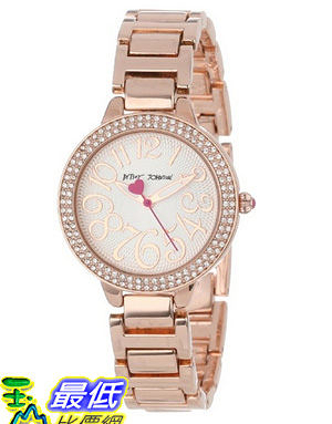 [美國直購 USAShop] 手錶 Betsey Johnson Women s BJ00235-02 Analog Rose Gold Bracelet Watch $4319