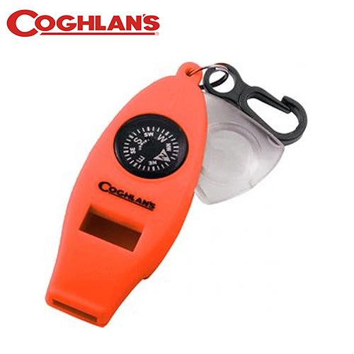 丹大戶外【Coghlans】加拿大 Four Function Whistles 四用哨(橘) 0045-Orange