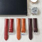 【可水洗保養 海奕施 HIRSCH】小牛皮壓紋錶帶 Duke M L 加厚款 焦糖棕/紅棕/咖啡色  附工具(雙數尺寸)