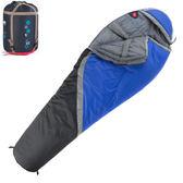 PUSH! 登山戶外用品 300克0~5度防風防潑水四季空調被可拼接木乃伊睡袋P76新款