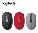 羅技 M590 多工無線靜音滑鼠 (黑灰紅三色)
