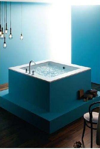 【麗室衛浴】美國 KOHLER  Underscore 正方形崁入式浴缸 K-98862T-0