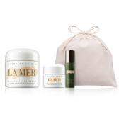 LA MER 霜(大容量)100ml+煥顏彈力無痕精萃5ml+乳霜15ml