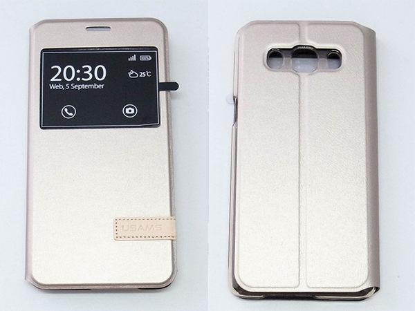 USAMS Samsung Galaxy J5 (2016新版) 側翻手機保護皮套 慕格系列 3色可選