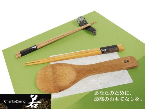 [AWANA]若食彩五入筷+飯匙組 (自然原木)