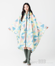 日本KIU 64125 萬花筒 空氣感雨衣/親子雨披/防水斗篷 騎車露營必備 附收納袋(男女適用)