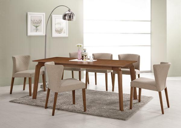 【森可家居】雪莉餐椅(布) 7CM513-3  實木 北歐風