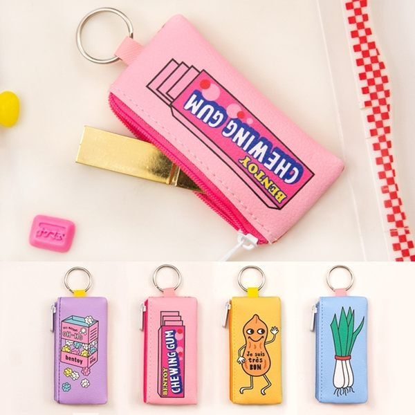 零錢包-超商食物掛飾收納包/錢包/鑰匙圈-共4色-B300005-FuFu