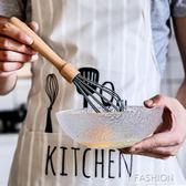 舍里木柄手動打蛋器家用手持式打奶油攪拌器不銹鋼烘培廚房小工具·Ifashion