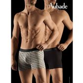 Aubade man-壞男人M-XL舒棉平口褲(AUBADE2件組)