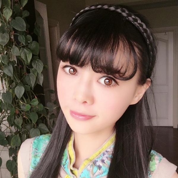 Qmishop 韓系假瀏海髮箍 瀏海假髮片無痕接髮 /仿真髮/高溫髮絲/可燙【QP072】