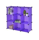 魔術方塊 櫃收納櫃書櫃衣櫃【B0004 】魔術方塊9 格收納櫃三色ac MIT  製完美主義