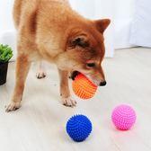 狗狗玩具狗子乳膠小刺球慘叫雪納瑞玩柴犬巴哥斗牛犬逗狗發聲玩具