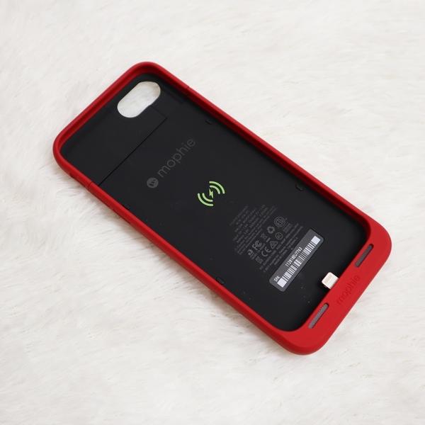 【現貨】 Supreme Mophie iPhone 7/8適用 充電 手機殼 紅色 潮流 紅白 男女 SMI8