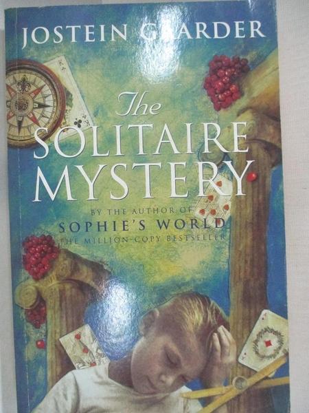 【書寶二手書T2/原文小說_B2P】Solitaire Mystery_GAARDER, JOSTEIN, 喬斯坦.賈德