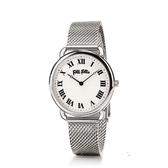 FOLLI FOLLIE  PERFECT MATCH 復古米蘭帶腕錶  WF16T013BPS 銀