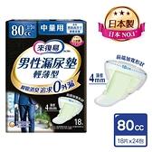 來復易 男性漏尿專用棉墊-中量型80cc(432片/箱)-箱購