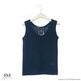 【INI】週慶限定、鄉村無印風格針織多色背心.黑色