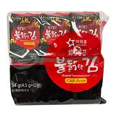 PLHZHY韓國12入海苔辣味54G【愛買】