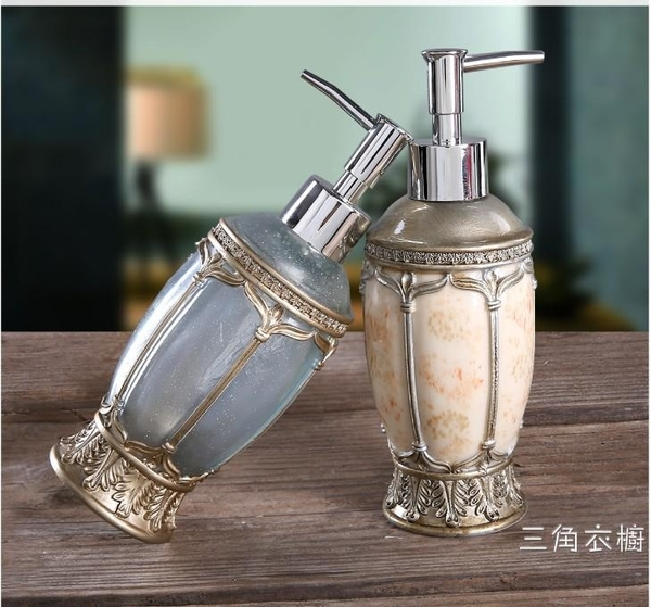 陶瓷乳液分裝按壓空瓶幾何風家居酒店洗發水沐浴露洗手液護發素瓶