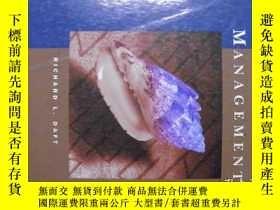 二手書博民逛書店MANAGEMENT罕見(FOURTH EDITION)Y11966 RICHARD L. DAFT