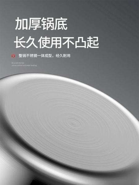 平底鍋平底鍋不粘鍋煎鍋316不銹鋼家用炒菜煎蛋烙餅無涂層電磁爐燃氣灶JD特賣