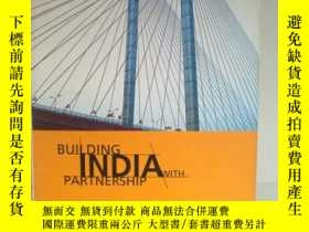 二手書博民逛書店Building罕見India With Partnership
