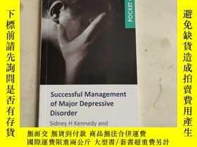 二手書博民逛書店Successful罕見Managementof Major Depressive Disorder Sidney