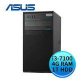 ASUS 華碩 D520MT-I37100001R (Intel i3-7100/4G DDR4/1TB/24X DVD-RW/WIN10 PRO) 商用桌上型電腦