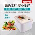 果蔬清洗機等離子臭氧消毒解毒機全自動超聲波活氧食材凈化器   【全館免運】