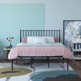 時尚歐式鐵藝床環保鐵架床公主床1.2米單人床1.5米1.8米雙人床  汪喵百貨