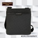 【Roberta Colum】諾貝達百貨專櫃側背包 休閒包 商務包(8913黑色)【威奇包仔通】