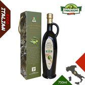 【法奇歐尼】義大利莊園特級冷壓初榨橄欖油-手工羅馬瓶禮盒750ml