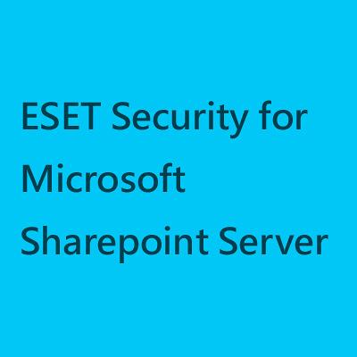 EESET Security for Microsoft Sharepoint Server【10台授權 一年版】(其他人數需求可來電洽詢)