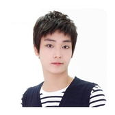 整頂假髮(真髮絲)-時尚帥氣自然舒適男假髮2色73vb11【時尚巴黎】