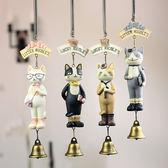 門窗裝飾鈴鐺zakka尼可貓風鈴樹脂掛件裝飾品工學生生日禮品創意