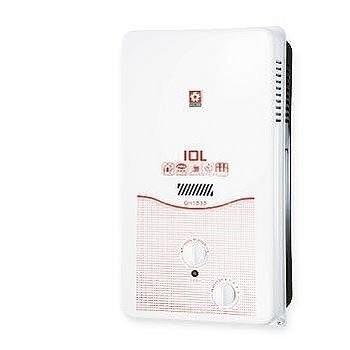 【刷卡分期+免運費】桶裝 櫻花 熱水器 10L屋外型 GH-1033 / GH1033 台灣製造