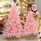 圣诞树 粉色圣誕樹套餐1.2米漸變櫻花樹家用櫥窗裝飾ins風直播網紅樹【快速出貨】