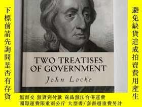 二手書博民逛書店two罕見treaties of governmentY3392